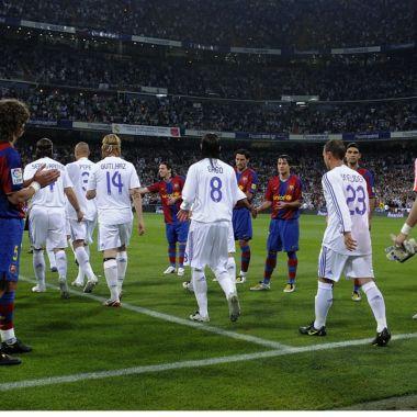 Real Madrid Barcelona Pasillo Clásico España