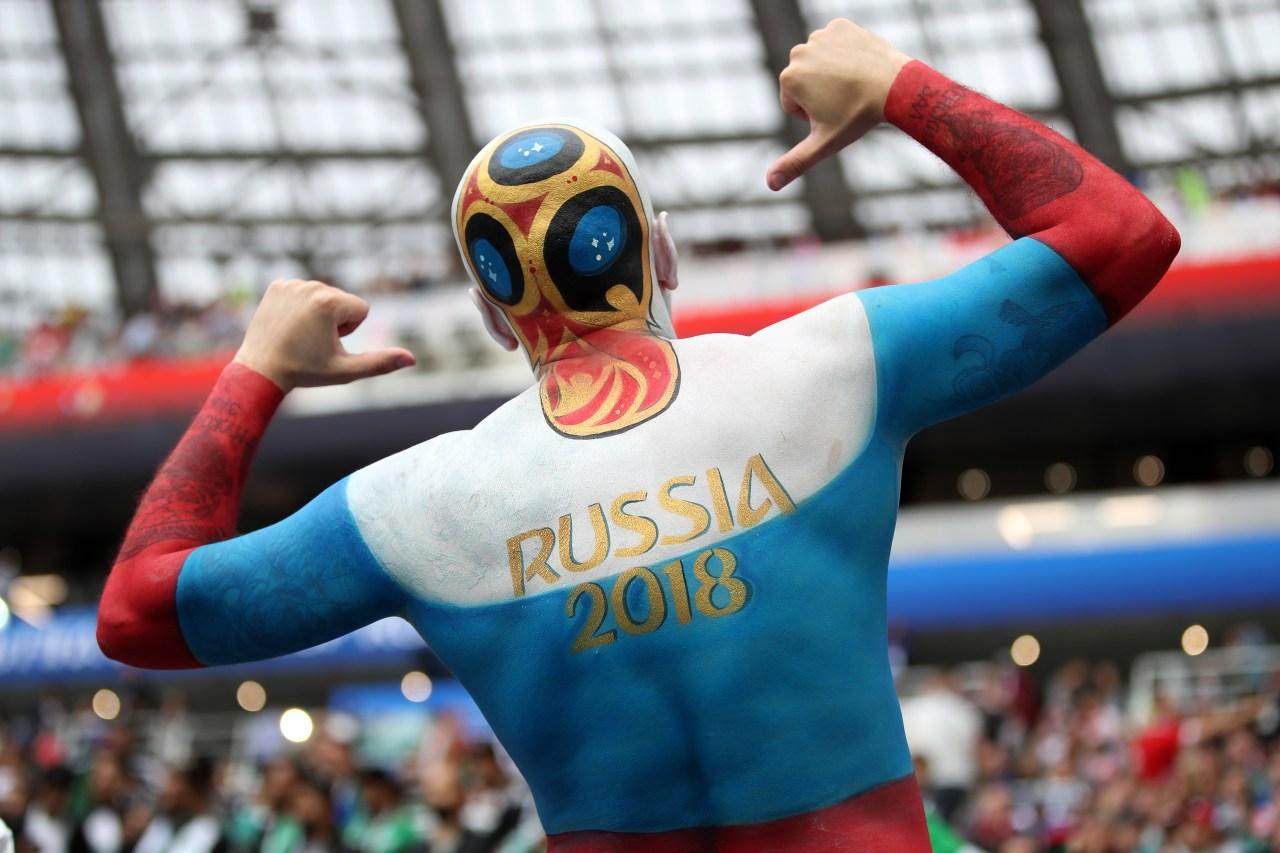 Afición Rusia Mundial Inauguración