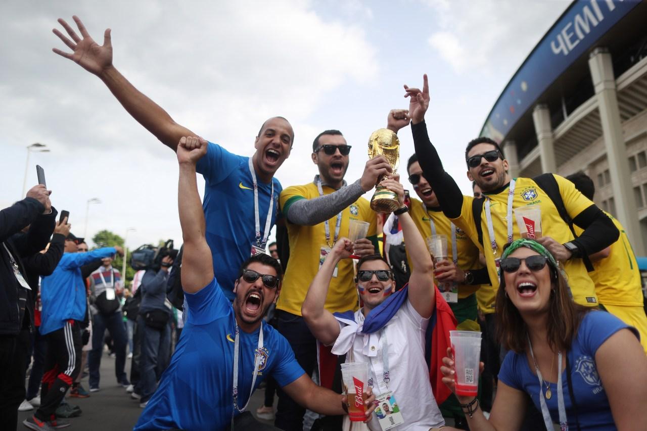 Aficionados Brasil Inauguración Mundial