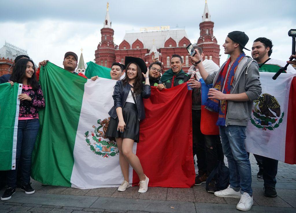 Aficionados México Selección Mexicana Rusia 2018 Choque Mundial