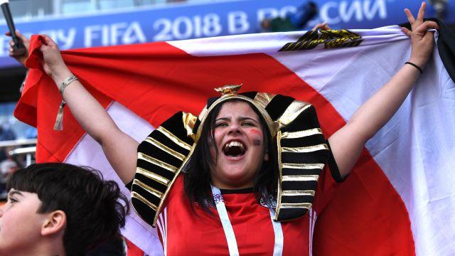 Mexicanos Aficionado Egipcio Silla de Ruedas Egipto Uruguay Mundial Rusia 2018