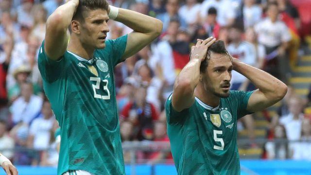 Alemania Eliminada, Maldición Campeón Mundial, Mundial, Rusia 2018