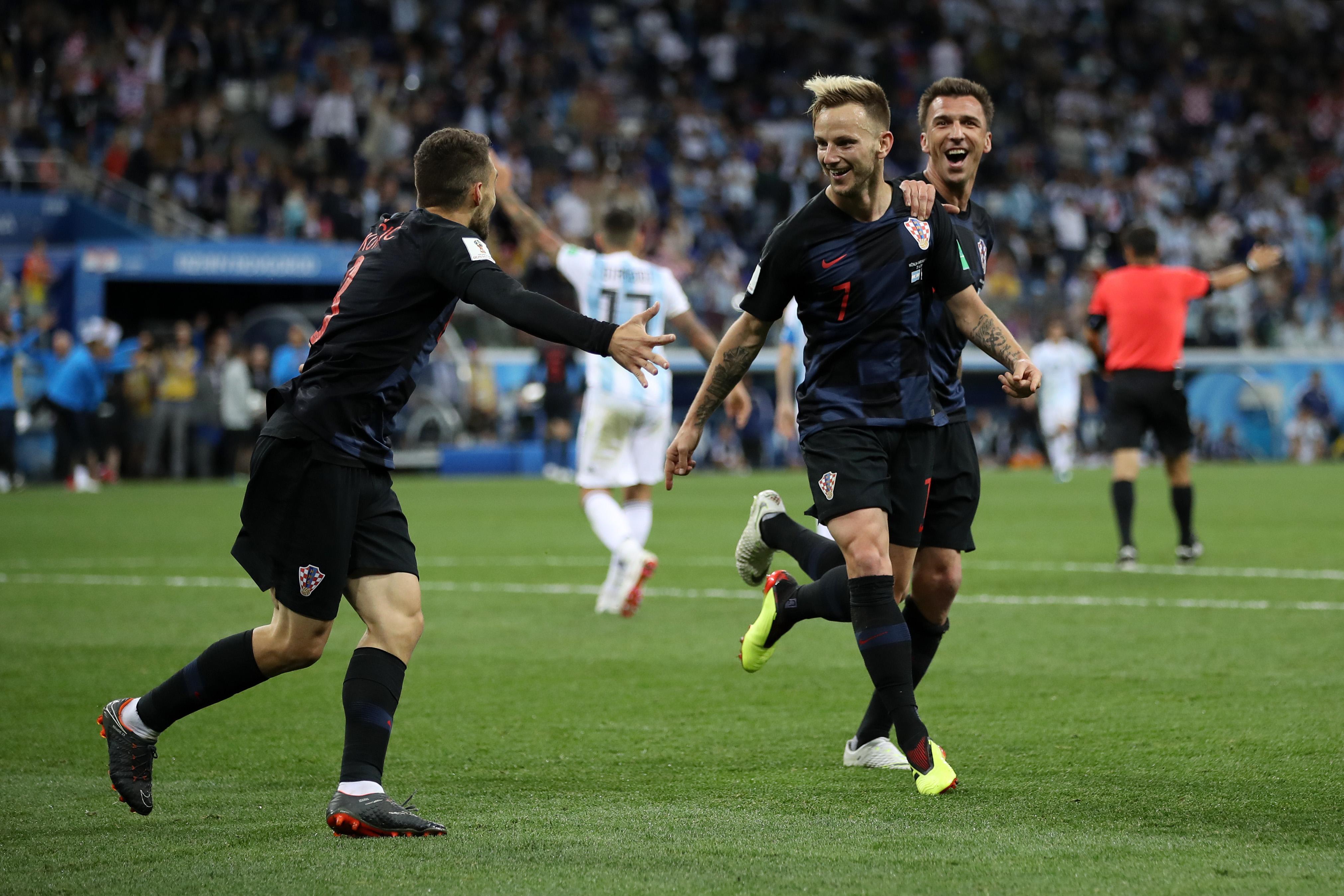 Argentina Croacia Goles Mundial Rusia 2018