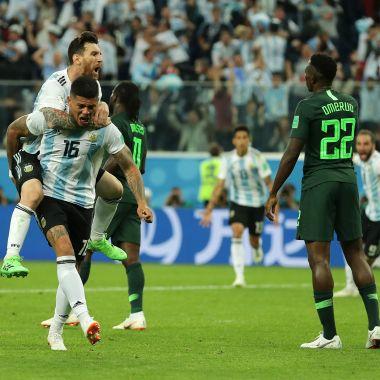 Messi apareció y Argentina ya está en los octavos de final de Rusia 2018 [Goles]