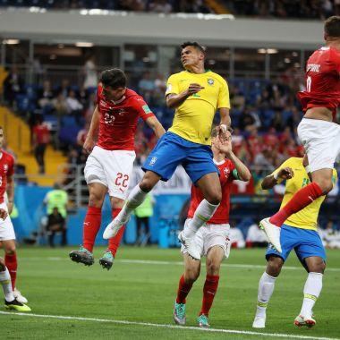 Brasil decepciona y empata ante Suiza en el Mundial de Rusia 2018