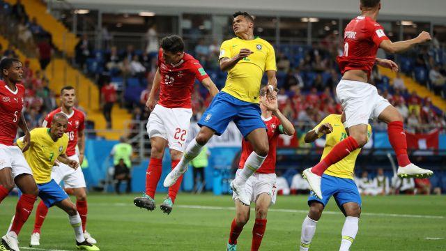 Brasil Suiza Mundial Rusia 2018 Los Pleyers