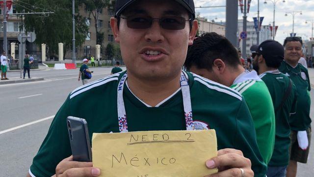 Mexicanos Buscan Boletos México Suecia Mundial