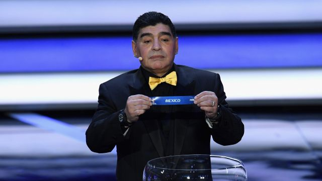 Diego Maradona Declaraciones México Mundial Rusia 2018