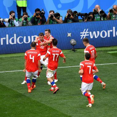 Rusia Inició Mundial Futbol Goleada Arabia Saudita