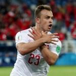 Xhaka Shaqiri investigados por FIFA