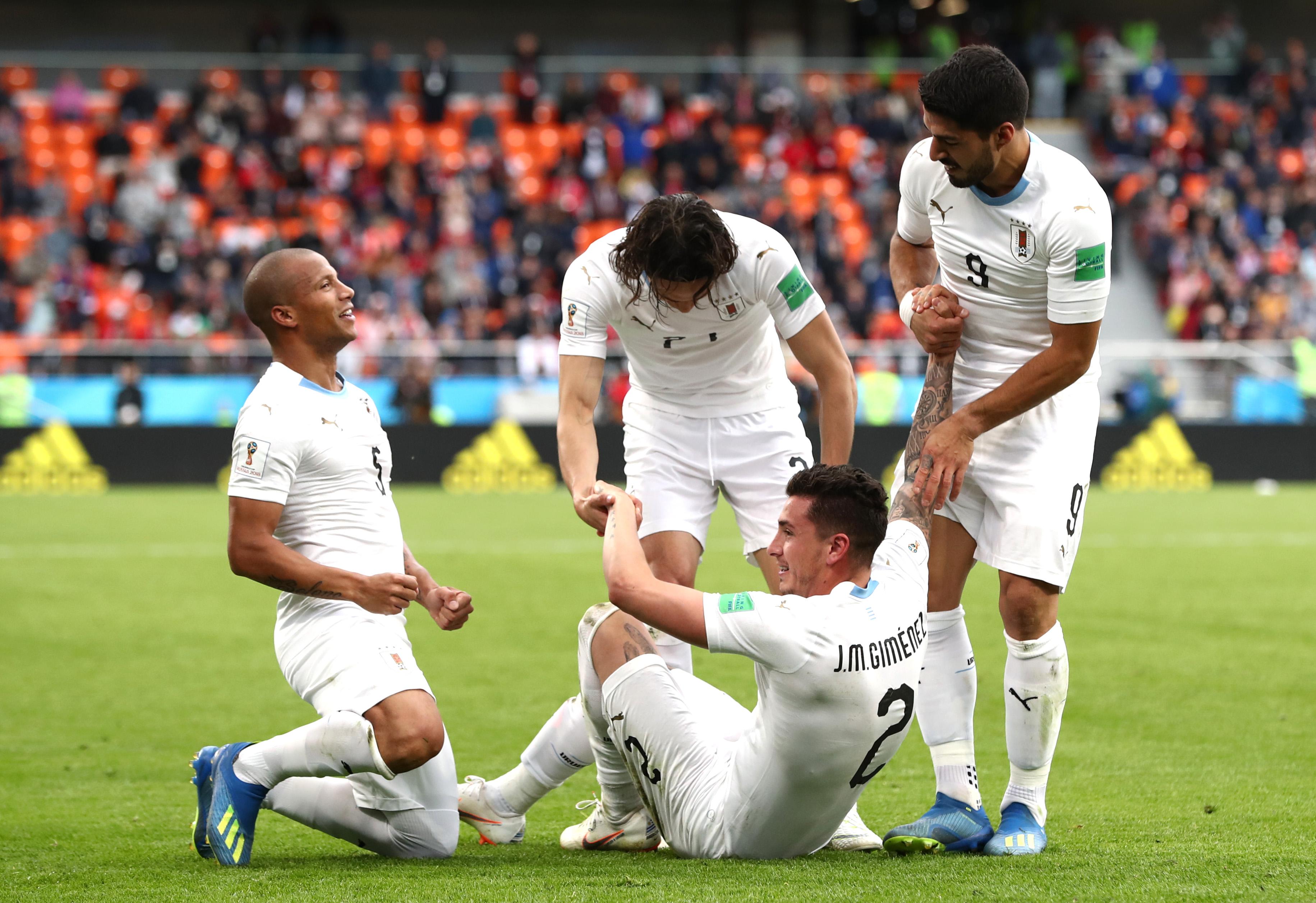 Hora Uruguay Arabia Saudita Mundial Rusia 2018