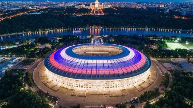 Inauguración Hora Mundial Rusia 2018 Inicio