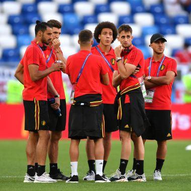 Inglaterra Bélgica Mundial Rusia 2018 Pleyers
