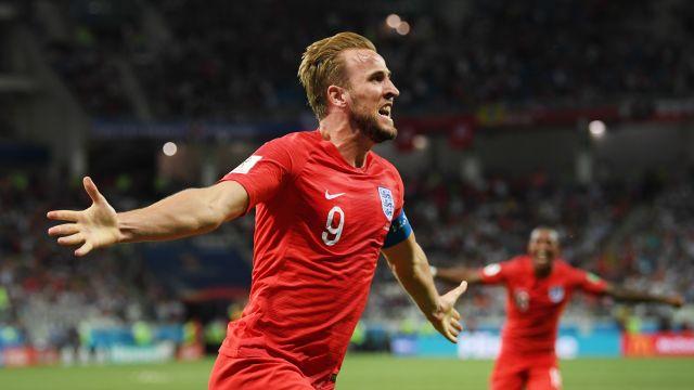 Inglaterra Túnez Rusia 2018 Mundial Goles