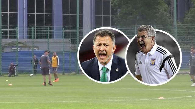 Juan Carlos Osorio Entrenamiento Selección Mexicana Los Pleyers