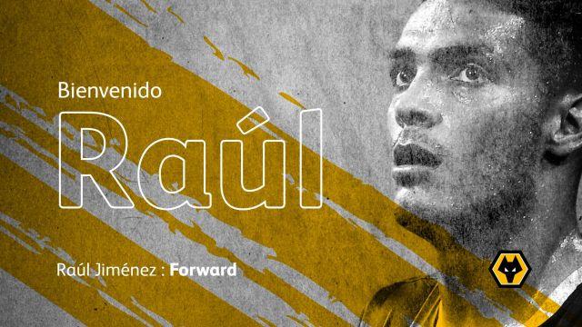raul jimenez es nuevo jugador del Wolverhampton