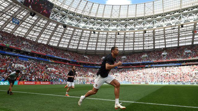 Ronaldo Cristiano Portugal Marruecos Copa del Mundo Mundial Rusia 2018 En Vivo