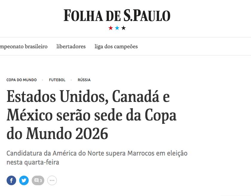 Así reaccionó el mundo a la designación de México como sede del Mundial