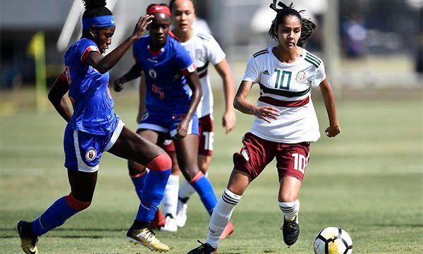 La Selección de Mexico Femenil empató con Haití y clasificó a Semifinales del Campeonato Femenino Sub-17