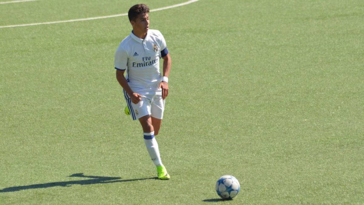 Mexicano Real Madrid Monterrey Paolo Medina