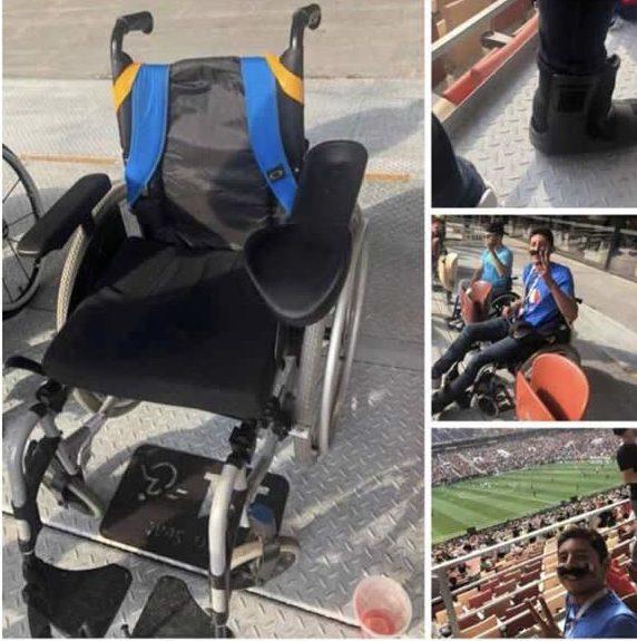 Aficionado Mexicano Aarón Muñoz Discapacidad Rusia 2018 Pleyers