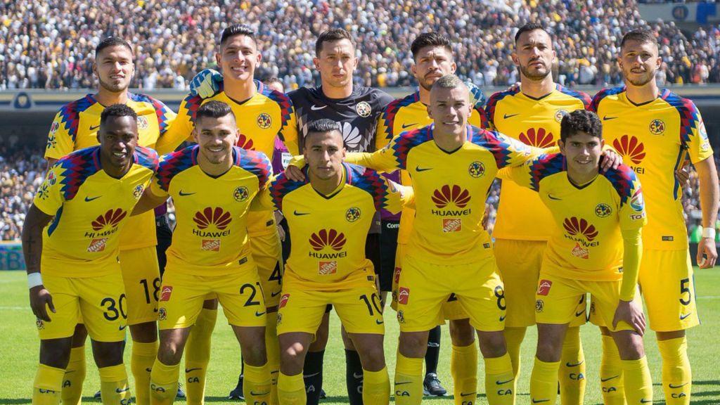 América Alineación Torneo Apertura 2018 Pleyers
