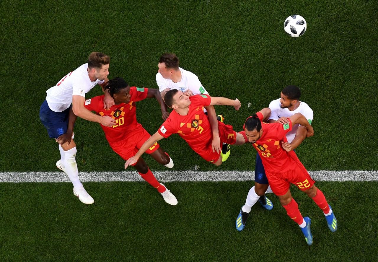 Bélgica, Inglaterra, Rusia 2018, Mundial