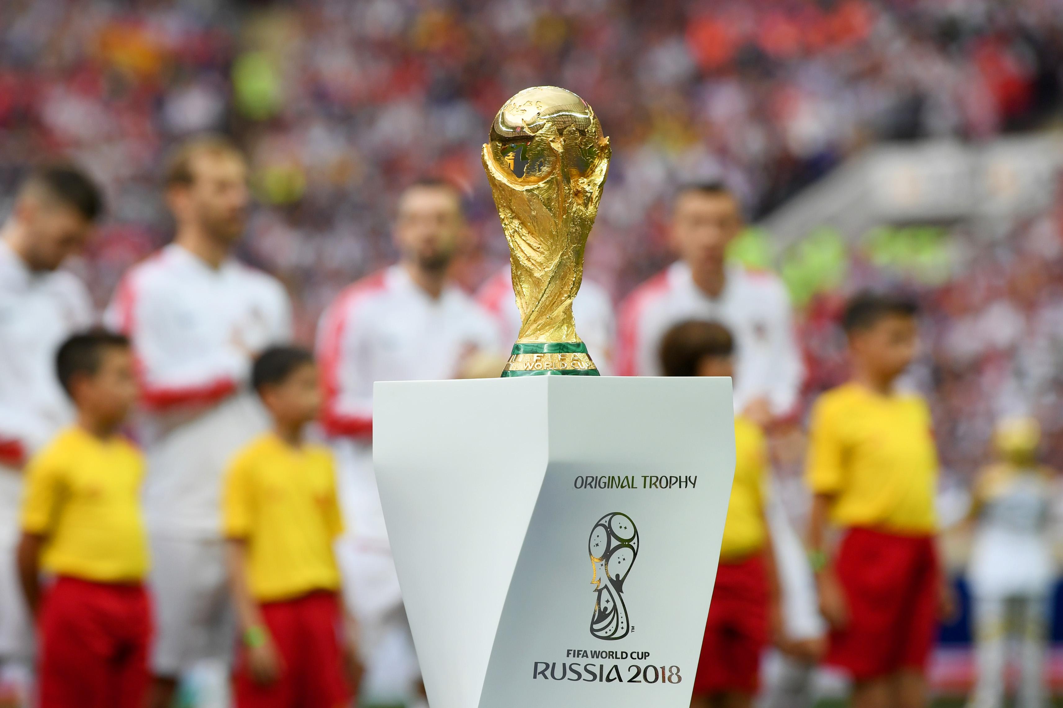 Copa del Mundo Rusia 2018 Inauguración Trofeo