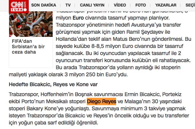 Diego Reyes, Erick Gutiérrez. Fichaje, Turquía