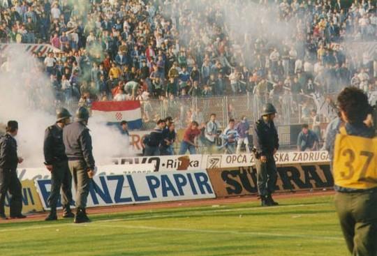Dinamo Zagreb, Estrella Roja Belgrado, Zvoromir Boban, Croacia