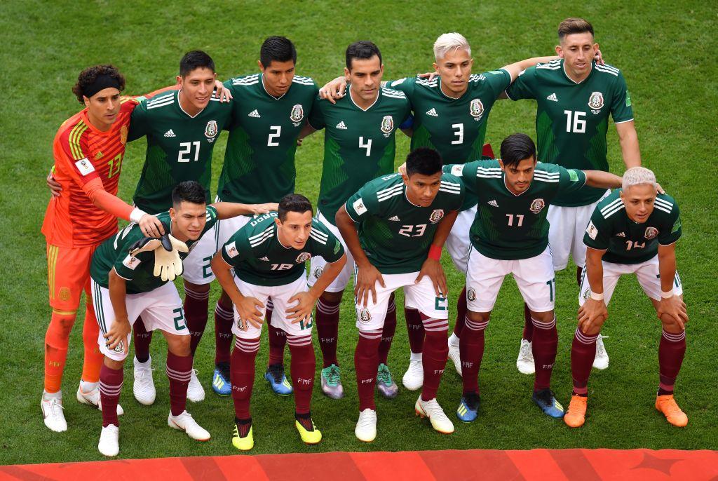 Jugadores mexicanos Top 100 Mundial Rusia 2018