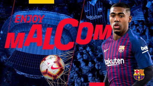Malcom Barcelona Fichaje Roma Los Pleyers