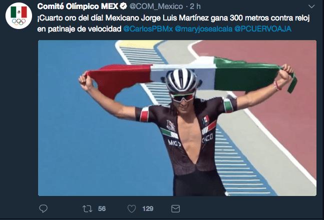 México en Juegos Centroamericanos, Barranquilla 2018, Medallas, Jorge Luis Martínez