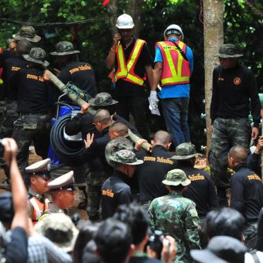 Niños Tailandia Cueva Rescate Los Pleyers
