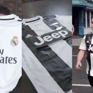 Playera-Real Madrid-Juventus-Cristiano Ronaldo