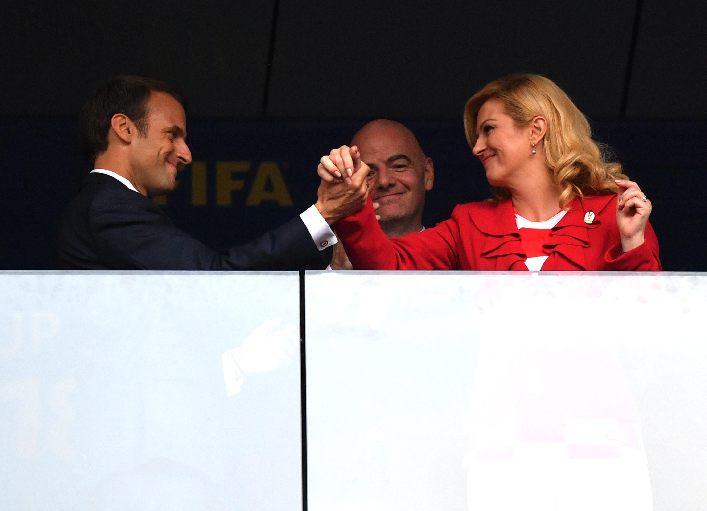 Presidentes Croacia Francia