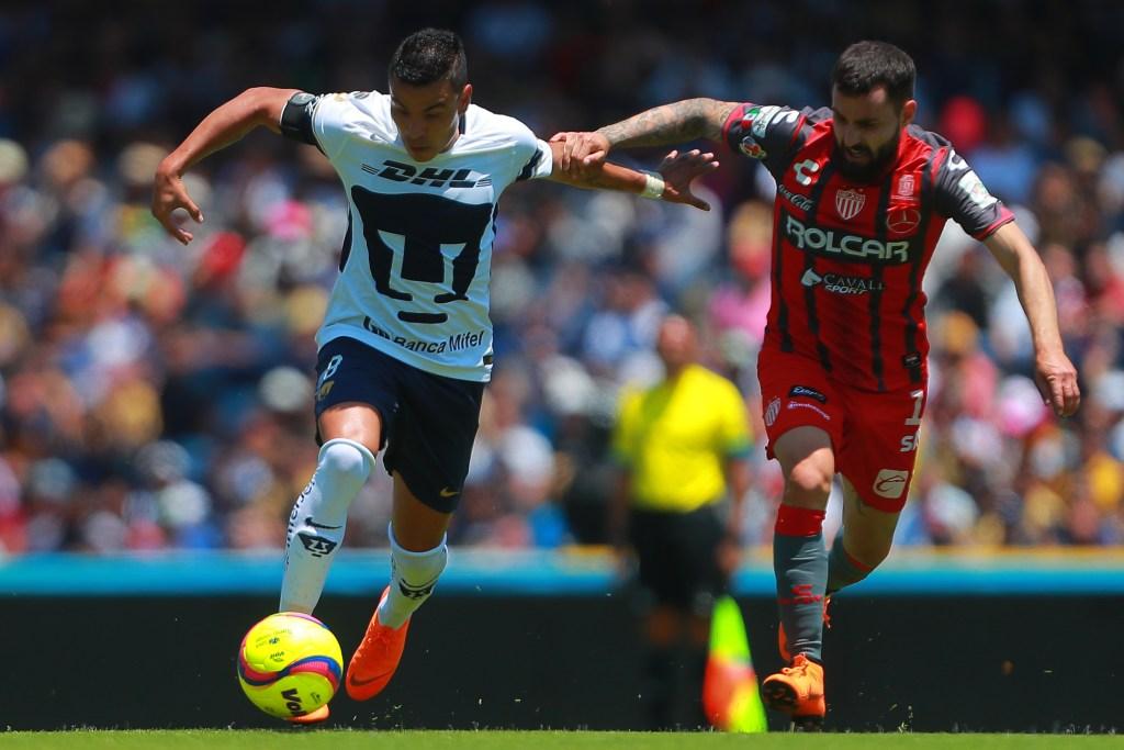 Pumas vs Necaxa Apertura 2018