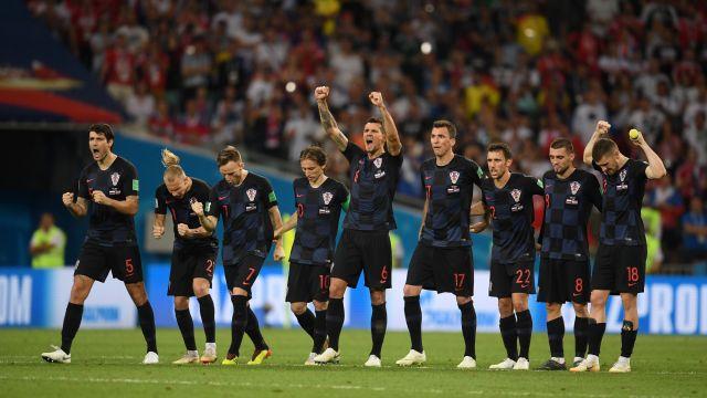 Rusia Croacia Resultado Mundial Los Pleyers