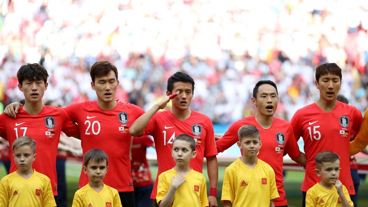 Son Heung-Min Corea Servicio Tottenham Los Pleyers