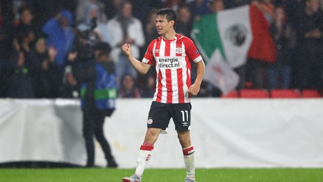 Chucky Lozano, PSV, Champions League, Gol