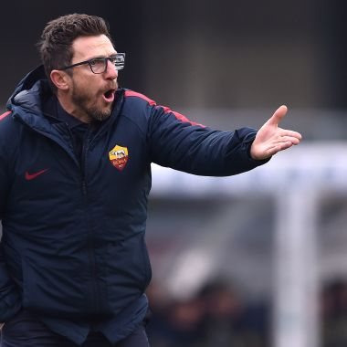 Eusebio Di Francesco Roma Mano Video Los Pleyers