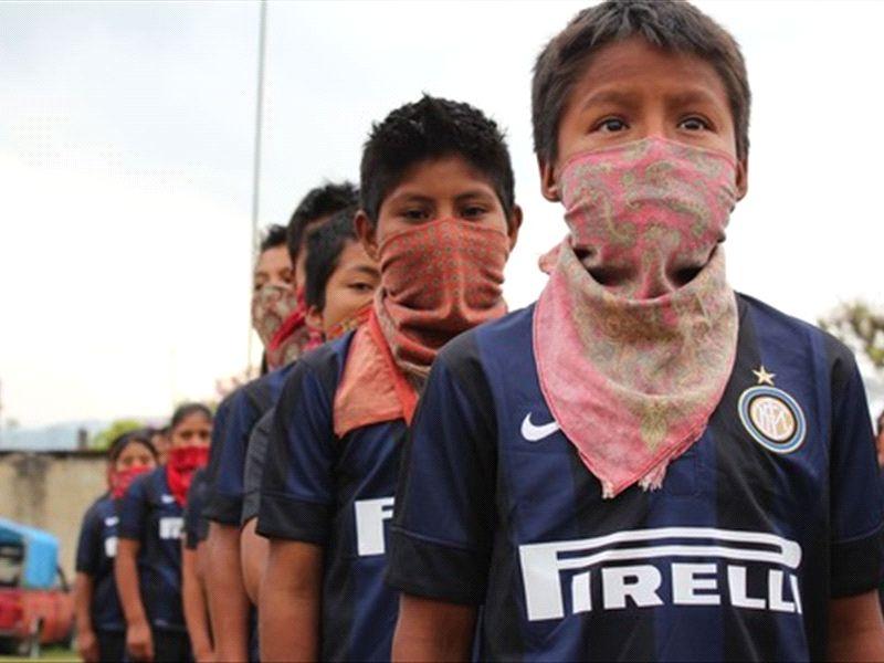 Javier Zanetti Inter de Milán EZLN Zapatistas