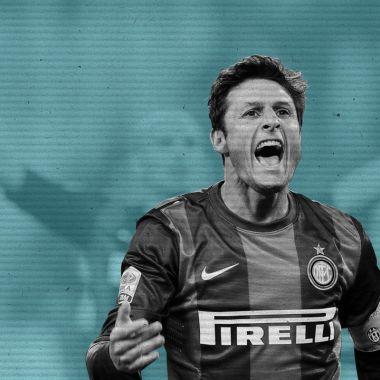 Javier Zanetti, eterno capitán, altruista y zapatista