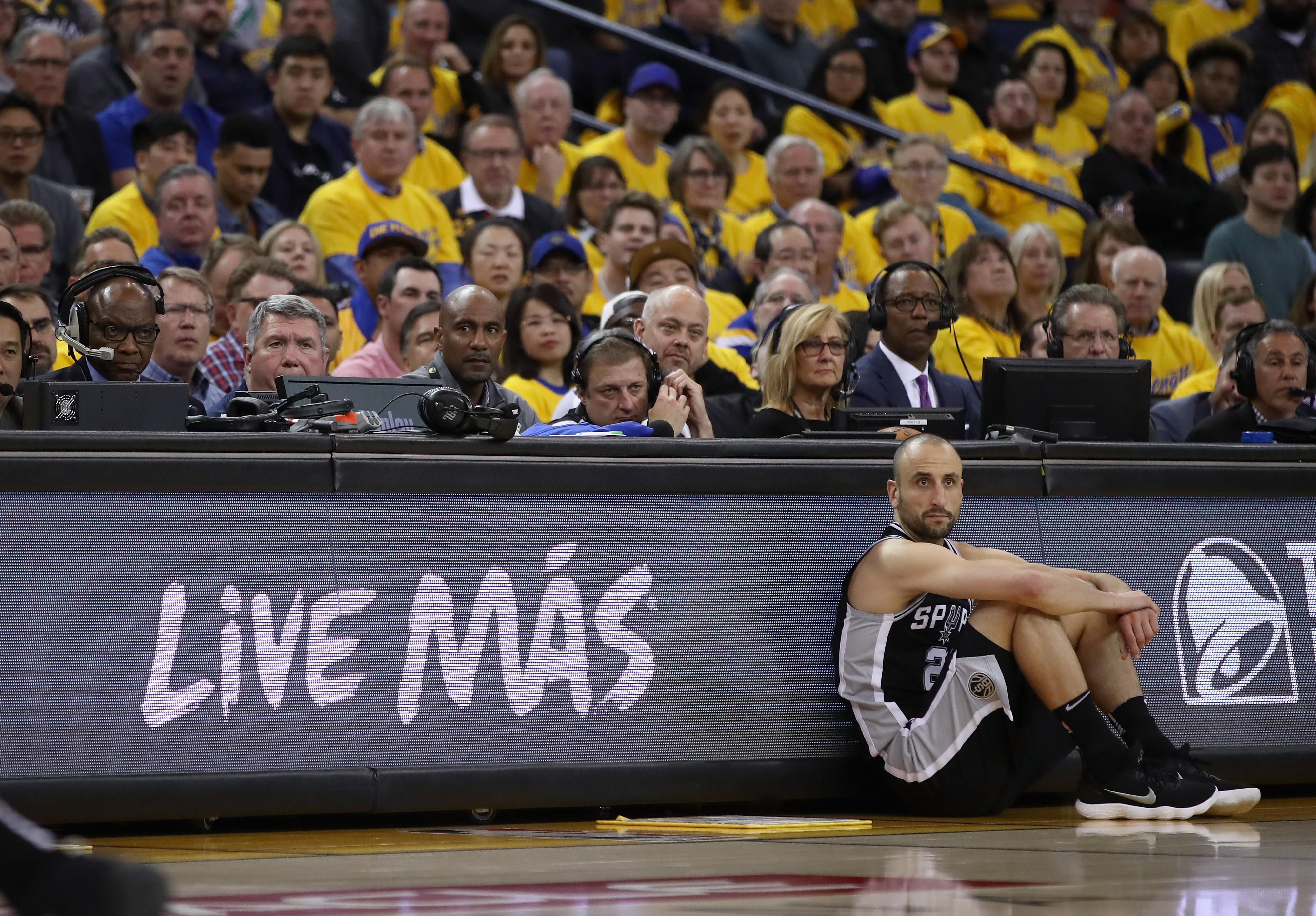 Manu Ginóbili, Retiro, San Antonio, Spurs