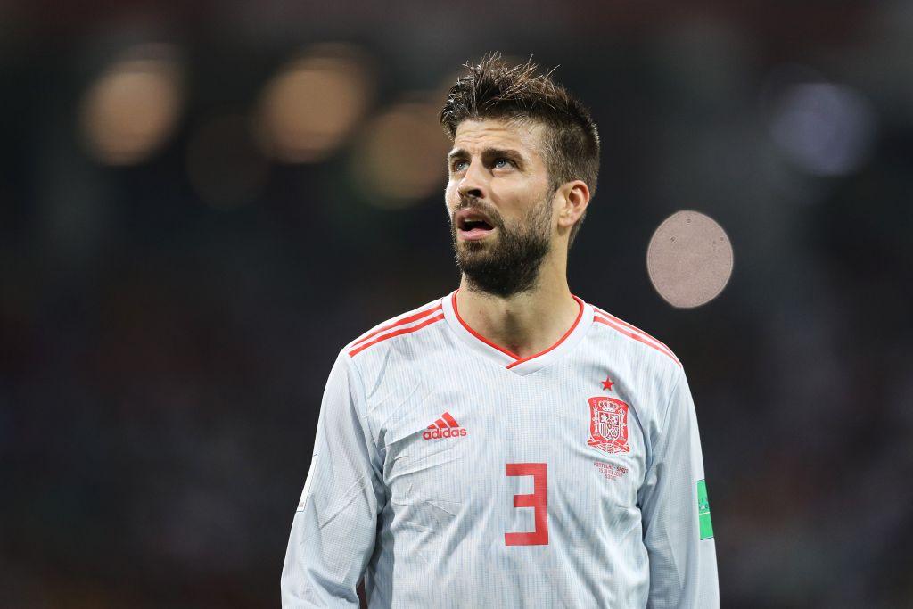 Piqué Retiro Selección España Los Pleyers