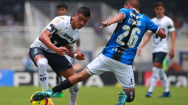 Pumas, Querétaro, Apertura 2018, Jornada 6