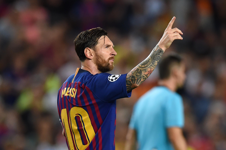 Barcelona Vs PSV Champions League Mexicanos Messi