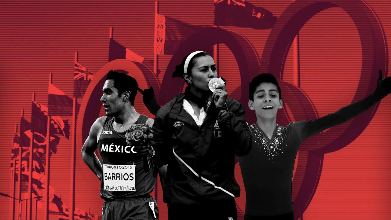 Aída Roman, Donovan Carrillo, Juan Luis Barrios, Atletas Mexicanos, Olímpicos, Septiembre