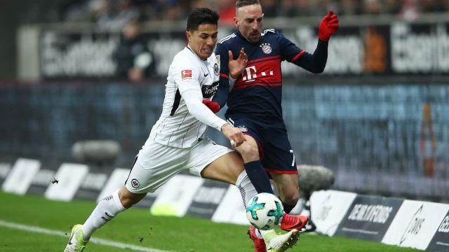 Carlos Salcedo, Eintracht Frankfurt, Lesión, Twitter