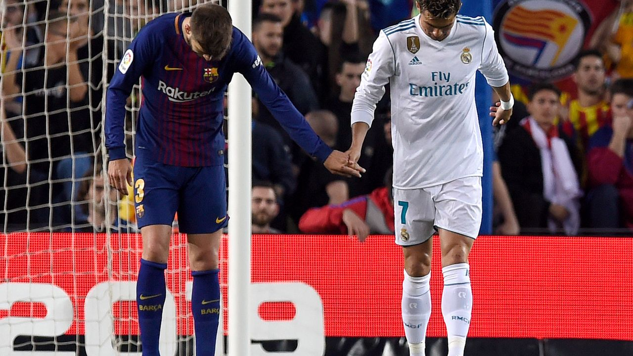 Cristiano Ronaldo, Gerard Piqué, David Bechkam, MLS